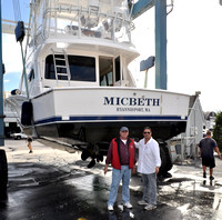 2005 Cabo 40' Flybridge - Day at Work: